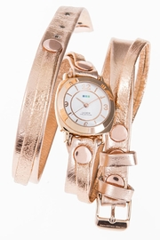LA MER Collections Metallic Wrap Watch - Front cropped