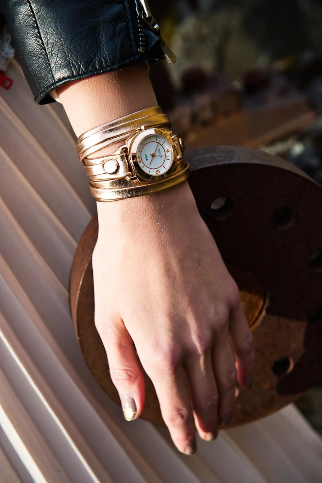 LA MER Collections Metallic Wrap Watch - Main Image