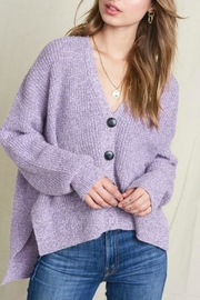 LA MIEL  Darla Button-Up Cardi - Product Mini Image