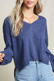 LA MIEL  Georgia High-Lo Sweater - Side cropped
