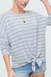 LA MIEL  James Striped Sweater - Product Mini Image