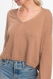 LA MIEL  Jonelle Crop Sweater - Product Mini Image