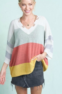 LA MIEL  Lovely Spring Sweater-Top - Product List Image