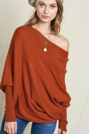 LA MIEL  Offshoulder Uneven Sweater - Product Mini Image