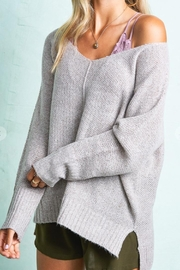LA MIEL  Soft Heathered Sweater - Product Mini Image