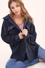 Mint Cloud Boutique Super Soft Fleece Plush Loose Fit Jacket - Product Mini Image