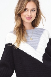 LA MIEL  Victory Sweater - Front cropped