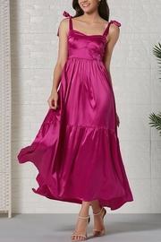 La Ros Magenta Maxi Dress - Product Mini Image