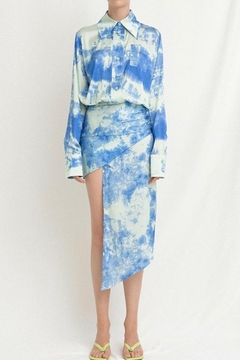 La Ros Tie Dye Dress - Alternate List Image