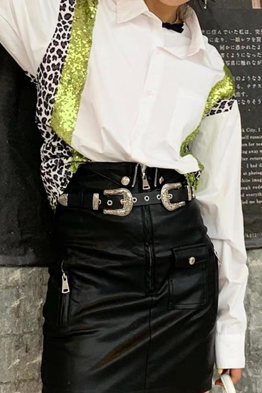 La Ros White Shirt With Sequins - Main Image