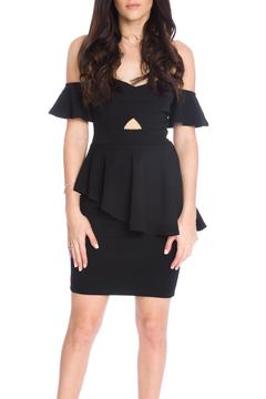 Shoptiques Product: Asymmetrical Peplum Top