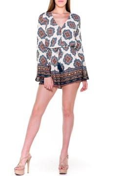 Shoptiques Product: Bell Sleeves Romper