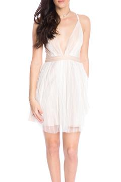 Shoptiques Product: Flare Plunging Dress