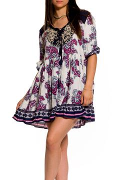 Shoptiques Product: Paisley Flare Dress