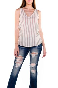 Shoptiques Product: Twisted Striped Top