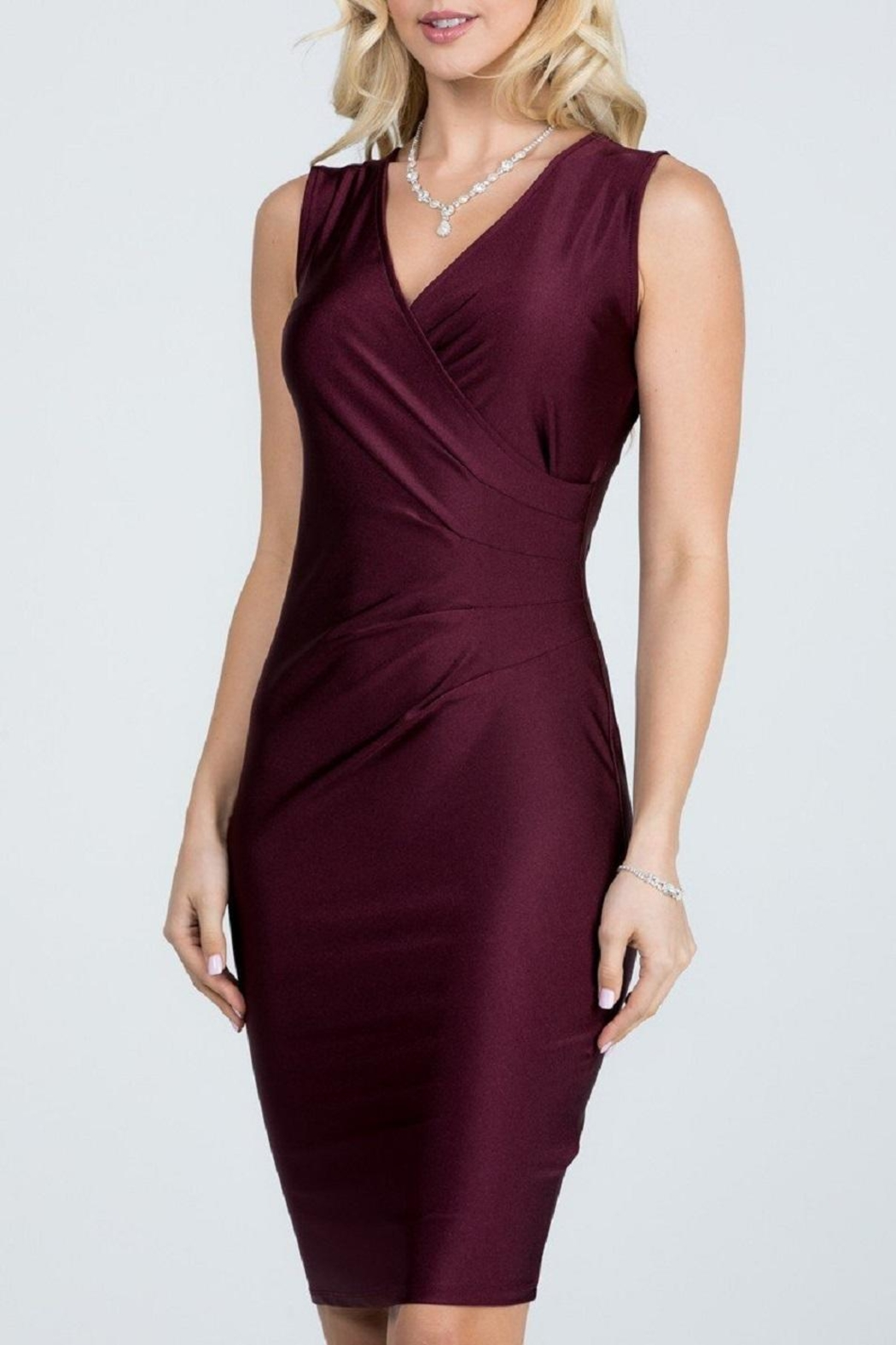 La Scala Tanya Festive Dress - Front Full Image