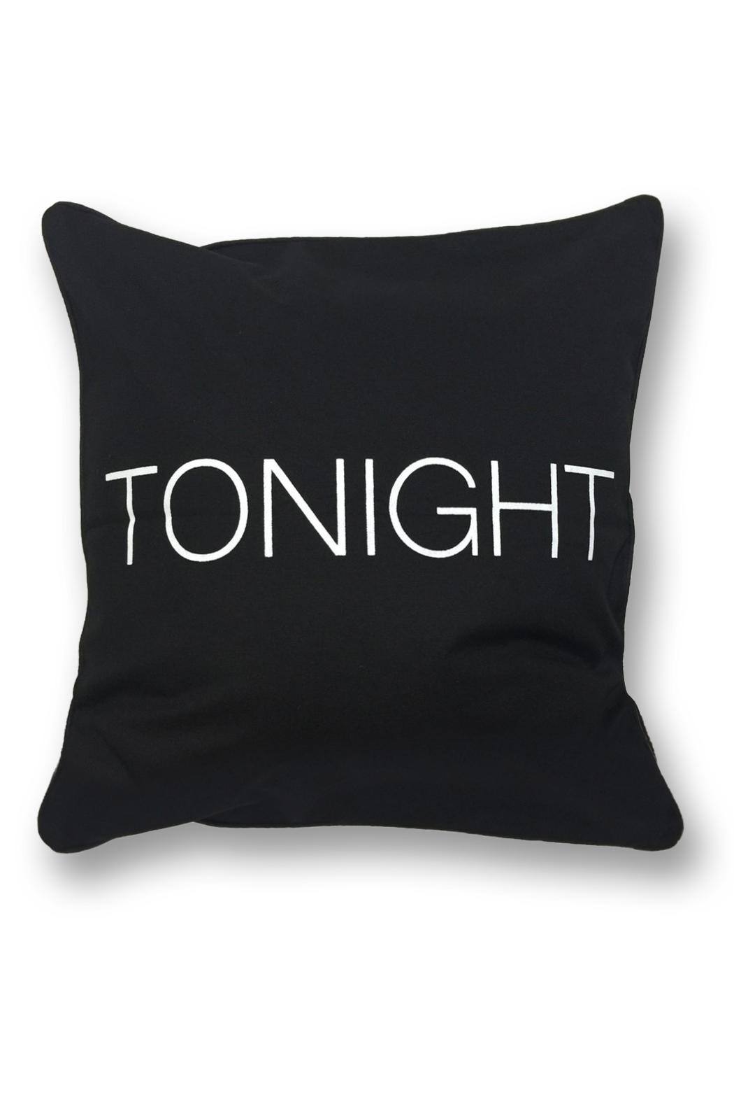 LA Trading Co. Not/tonight Pillow - Front Full Image