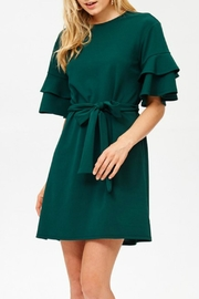 Labanga Hunter Ruffle Dress - Front cropped