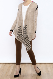 Shoptiques Product: Colorblock Cardigan - Front full body