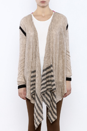 Shoptiques Product: Colorblock Cardigan - Side cropped