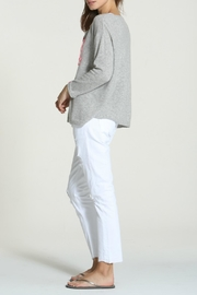LABEL + thread Cashmere Tie Sweater - Front full body
