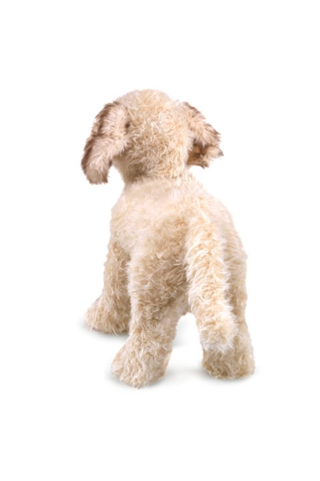 Folkmanis Labradoodle Hand Puppet - Front Full Image