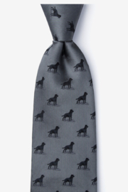 Alynn Neckwear Labrador-able Silk Tie - Product Mini Image