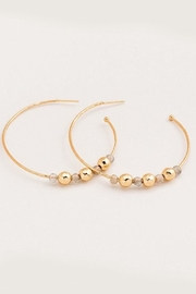 Gorjana Labradorite Hoop Earrings - Product Mini Image