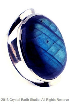 Crystal Earth Labradorite Ring - Alternate List Image
