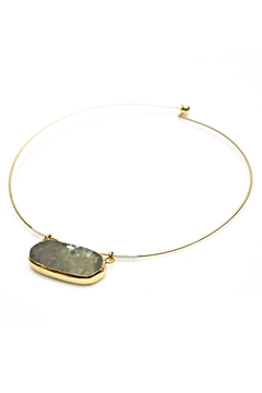 Shoptiques Product: Labradorite Wire Necklace