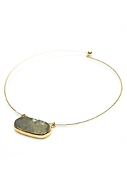 Nakamol Labradorite Wire Necklace - Product Mini Image