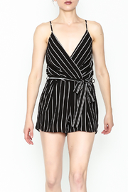 Lac Bleu Stripe Ella Romper - Product Mini Image