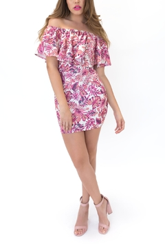 Lac Bleu Floral Layered Dress - Product List Image