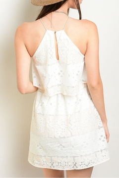 Lac Bleu Ivory Peach Dress - Alternate List Image