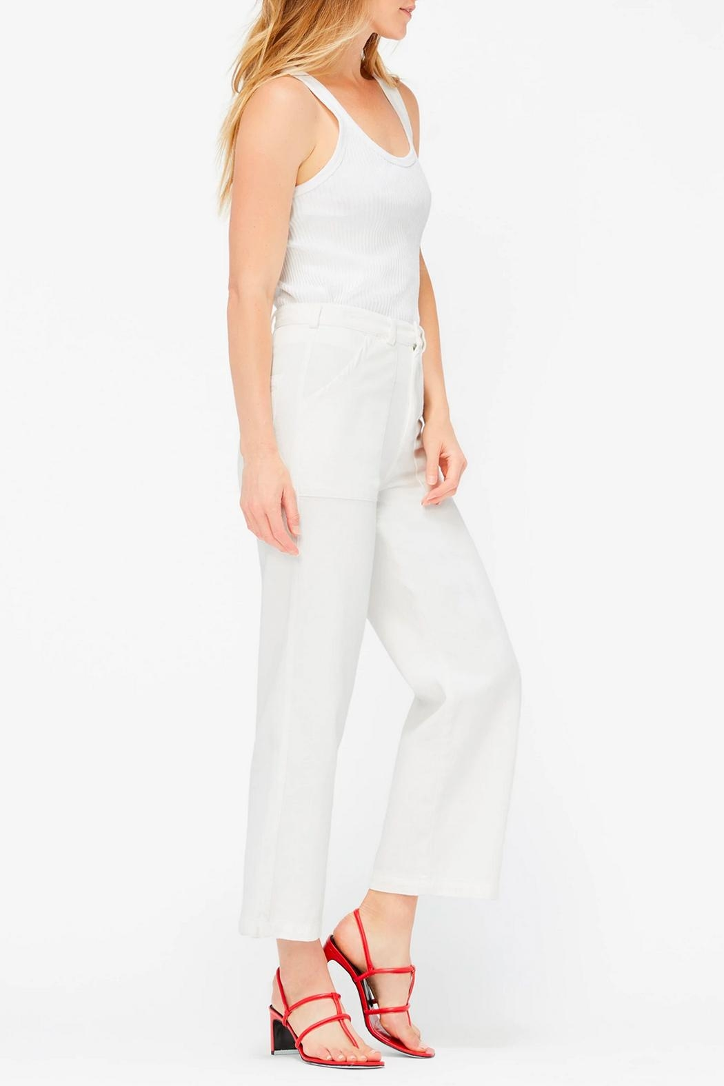 LACAUSA Arlo Cropped Trousers - Front Full Image