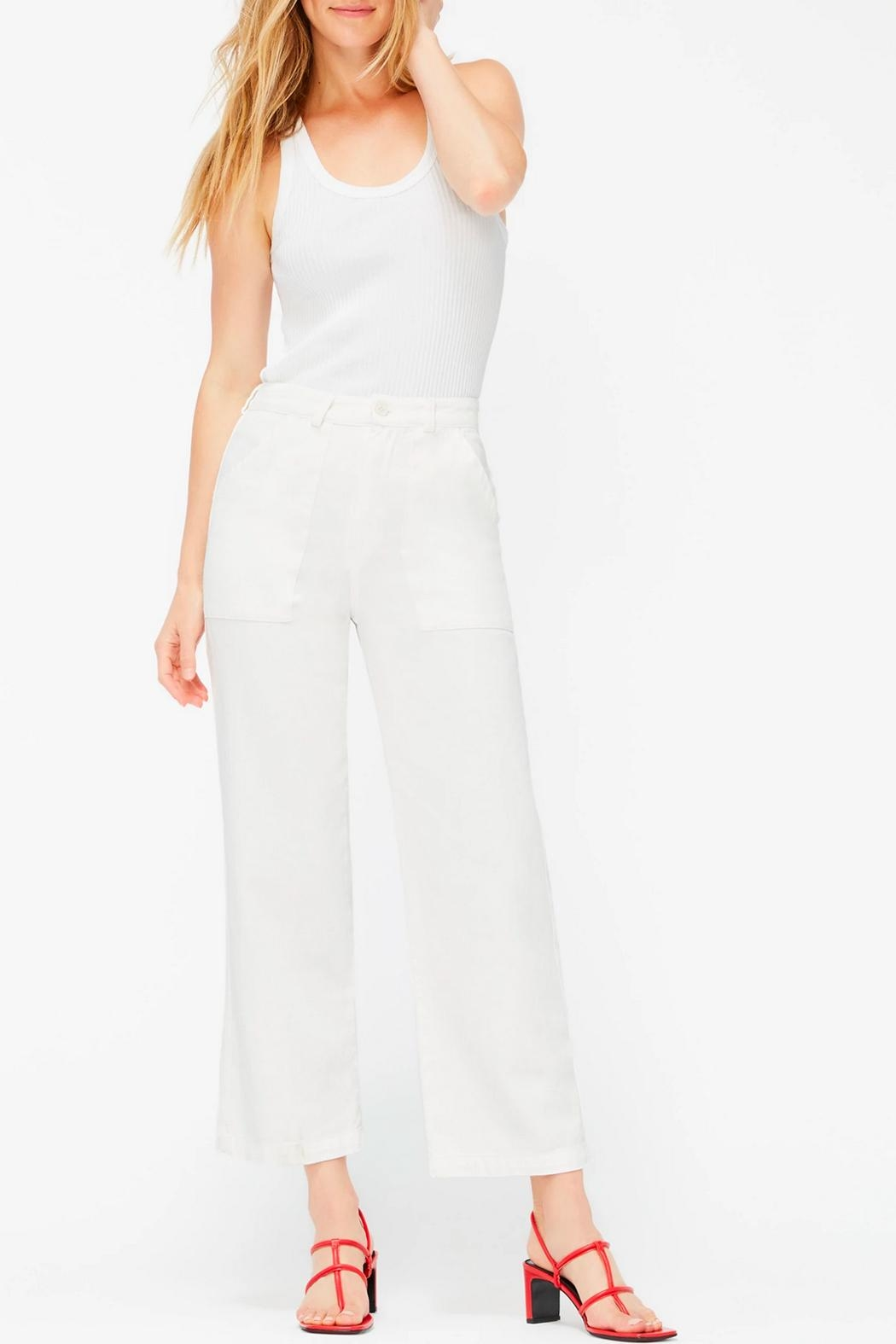 LACAUSA Arlo Cropped Trousers - Main Image