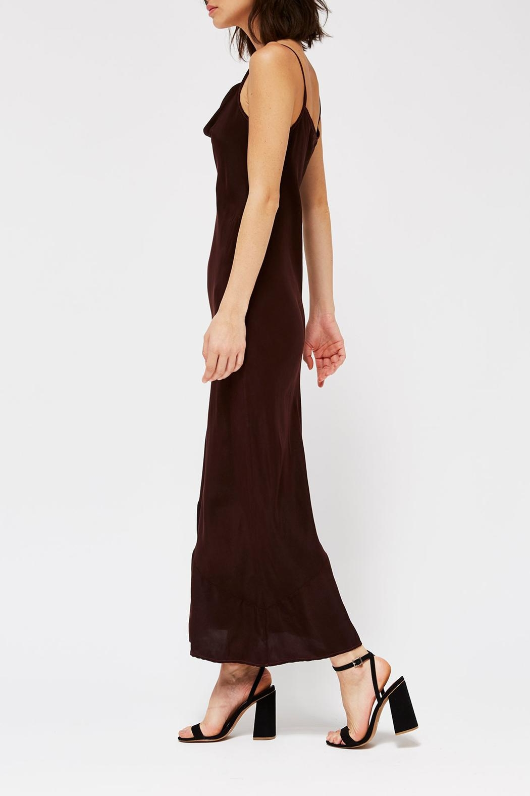 LACAUSA Bias Slip Dress - Front Full Image