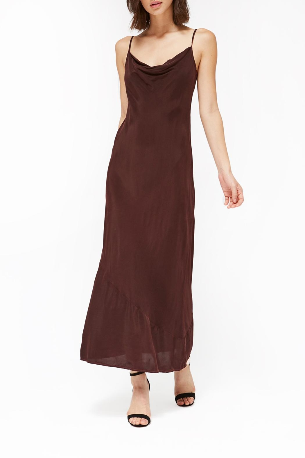 LACAUSA Bias Slip Dress - Main Image