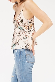 LACAUSA Calla Floral Tank - Front full body