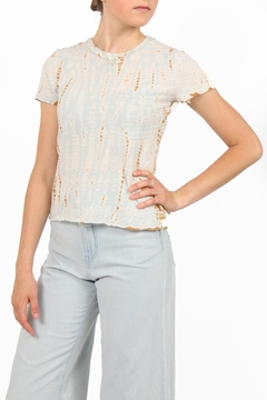 Shoptiques Product: Crepe Hand Dyed Top