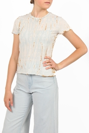 LACAUSA Crepe Hand Dyed Top - Product Mini Image