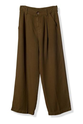 Shoptiques Product: High-Waisted Cropped Trouser - main