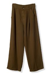 Shoptiques Product: High-Waisted Cropped Trouser - Front cropped