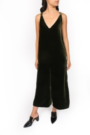 LACAUSA Santi Velvet Jumpsuit - Product Mini Image