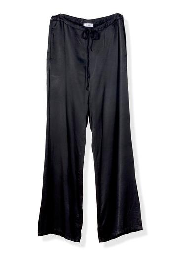 LACAUSA Satin Tie Pants - Main Image