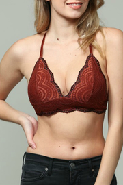 By Together Lace 2 Tone Bralette - Product Mini Image