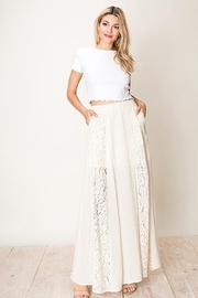 HYFVE Lace And  Crochet A-Line Maxi Skirt - Product Mini Image