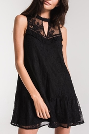 Black Swan Lace Babydoll Dress - Product Mini Image