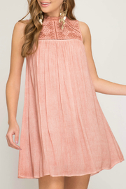 She + Sky Lace babydoll dress - Product Mini Image