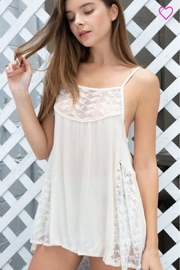 POL Lace Babydoll Top - Product Mini Image